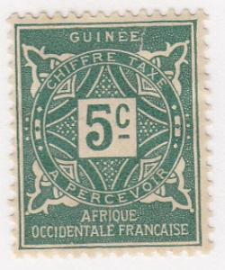 French Guinea, Scott #J16 (2), MH
