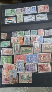 india 1947 to 1950 used lot