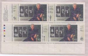 Canada - 1994 Jeanne Sauve Imprint Blocks mint #1509a