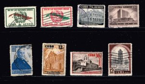 CUBA STAMP Airmail Stamps Collection Lot #S4