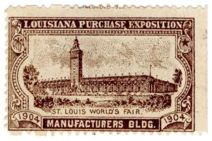 (I.B) US Cinderella : Louisiana Purchase Exposition (Manufacturers Building)