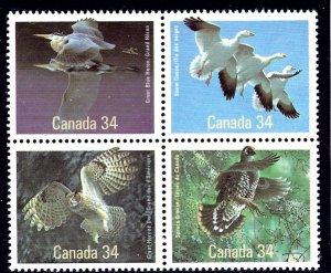 Canada 1098a MNH 1986 Indigenous Birds    (ap3389)