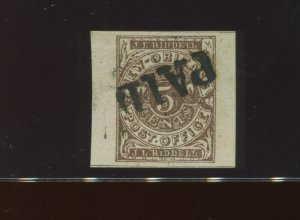 Confederate States 62X3 New Orleans Provisional Used Stamp PSE Cert XF-SUPERB 95
