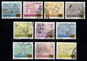 Vatican City 1981 Pope John Paul II's Journeys, Part Set (excl. 120l) [U...