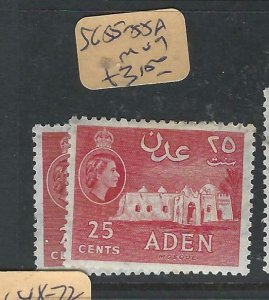 ADEN  (PP0807B)  QEII  25C  SG 55-55A   MOG
