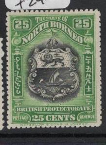 North Borneo SG 181 MOG (3dot)