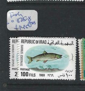IRAQ   (P2803B) FISH   SG 825-828     MNH
