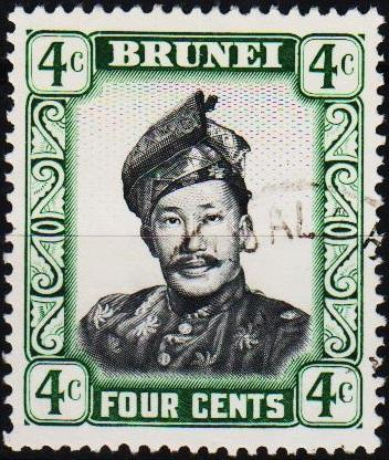 Brunei. 1952 4c. S.G.103 Fine Used