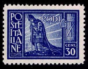 1929 ITALY - RHODES #19 - OGLH - VF - $62.50 (ESP#1544)