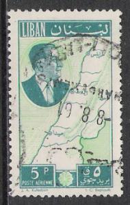 Lebanon #C296 Airmail Used
