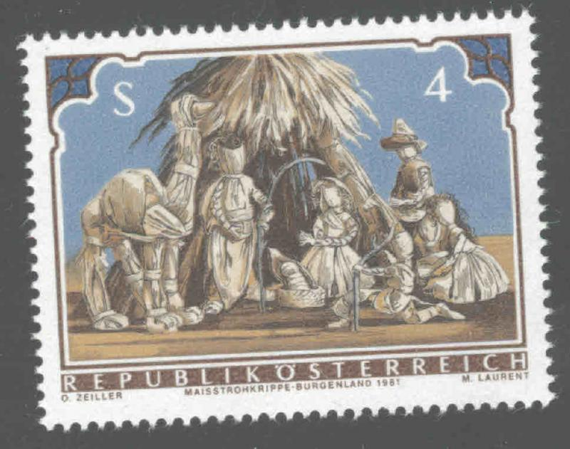 Austria Osterreich Scott 1196 MNH** 1981 Nativity stamp