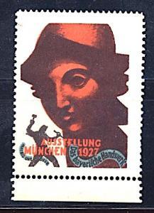 Cinderella Germany Bavarian Artisan Exposition Munich 1927 Art Deco Type 2