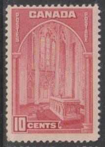 Canada Scott #241a Carmine Rose Stamp - Mint Single