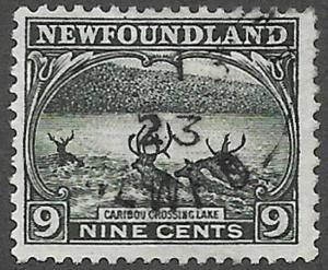 Newfoundland Scott Number 138 FVF Used