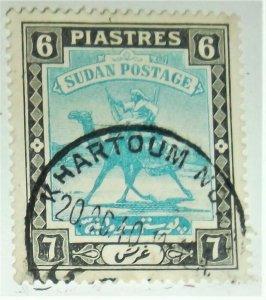 1948 SUDAN CAMEL SCOTT #90 A8 6P