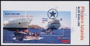 Pitcairn Islands 571 on FDC- Container Ships