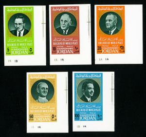 Jordan Stamps # 594-8 XF Scarce OG NH Set of 5