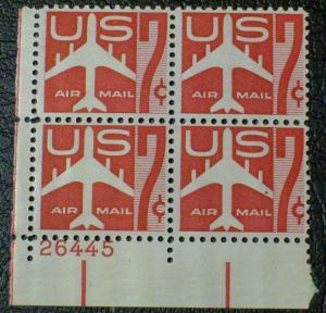 United States Scott #C60 mnh Plate Block