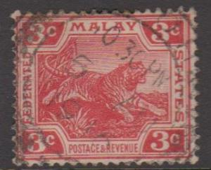 Malaya Federation Sc#43 Used