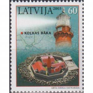 Latvia 2003 Lighthouses of Latvia  (MNH)  - Lighthouses