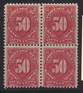 J67 Mint,OG,NH... Block of 4... SCV $1,300.00