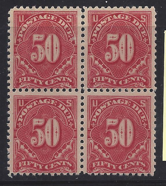 J67 Mint,OG,NH... Block of 4... SCV $1,300.00