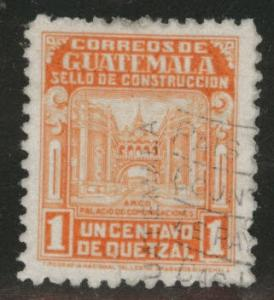 Guatemala  Scott RA22 used postal tax stamp
