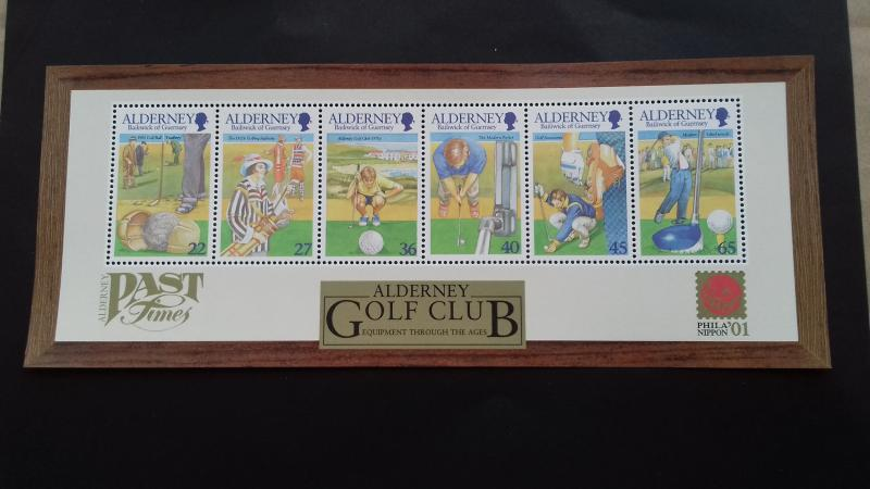 Alderney 2001 Golf Mint