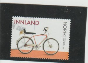Norway  Scott#  1881  Used  (2019 DBS Apache Bicycle)