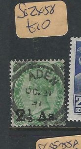 ADEN  (PP0807B) INDIA QV USED IN FORERUNNER  ADEN SG ZX58    VFU