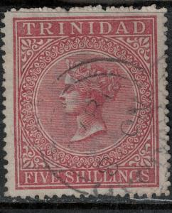 Trinidad 1864 SC 56 Used SCV $90