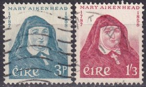 Ireland #167-8 F-VF Used CV $11.75 (Z5322)