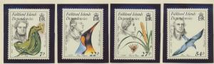 Falkland Islands Dependencies Stamps Scott #1L97 To 1L100, Mint Never Hinged ...