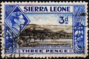 Sierra Leone. 1938 3d S.G.192 Fine Used