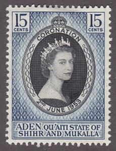 Aden S&M 28 Coronation of QEII 1953