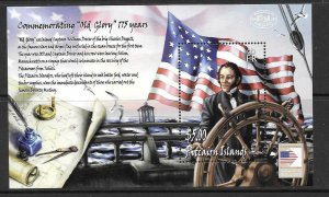 PITCAIRN ISLANDS SGMS710 2006 175th ANNIV OF VOYAGE OF CHARLES DOGGETT MNH