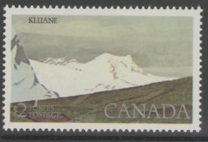 CANADA SG885 1977 $2 KLUANE MNH