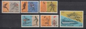 J25835  jlstamps 1976 greece set mnh #1181-6 olympics