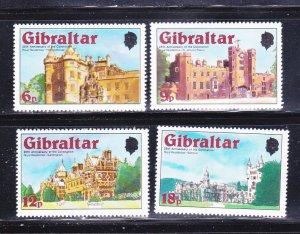 Gibraltar 365-368 Set MNH Royal Houses