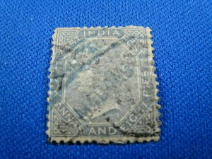 INDIA (EAST INDIA COMPANY)  1867  -  SCOTT # 27  -  USED     (Hi7)
