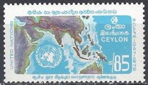 Ceylon 469  MNH  ECAFE