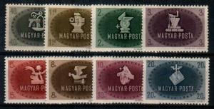 Hungary Scott 700-707 Mint NH