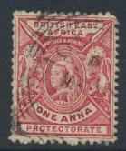 British East Africa Company  SG 66b  SC#74  Used  -  see details