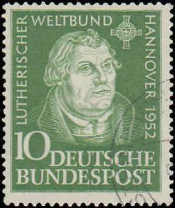 1952 Germany #689, Complete Set, Used