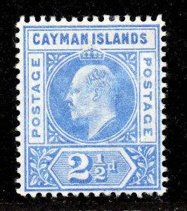 Cayman Islands 1902 EDVII 2½d wmk crown CA SG 5 mint