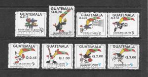 GUATEMALA - #455-62-UNIVERSITY GAMES   MNH