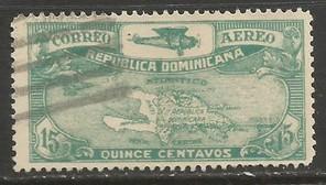 Dominican Republic C7 VFU MAP X135-3