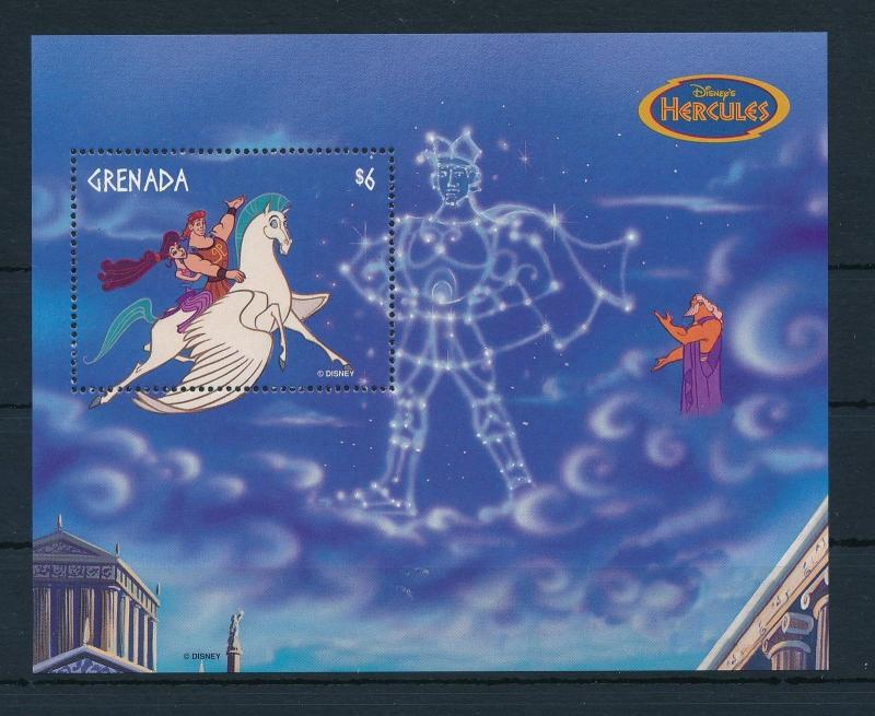 22571 Grenada 1998 Disney Movie Hercules Zeus Pegasus Horse