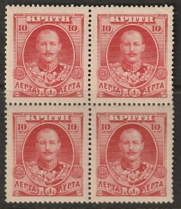 Crete 1905 Sc 76 block MLH*