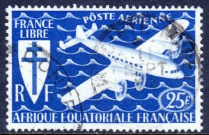 French Equatorial Africa - #C21 - Used - SCV $1.20